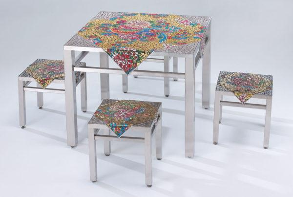 新四椅一桌